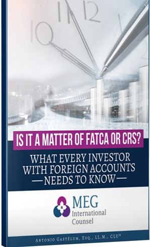 Is it a Matter of FATCA or CRS?